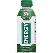 Qure Alkaline Water, Clean Energy Flavor