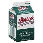 Barbers Buttermilk, Cultured, Nonfat