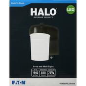 Halo Area and Wall Light, LED, Bronze, 8.98 Watts