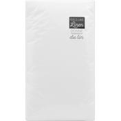 Sensations Napkins, White Ultra, 1 Ply
