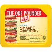 Oscar Mayer Smoked Shaved White Turkey