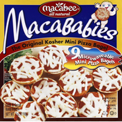MacaBabies Kosher Pizza Bagels Cheese