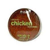 Spicely Organics Organic Chicken Seasoning