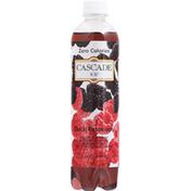 Cascade Ice Sparkling Water, Zero Calories, Black Raspberry