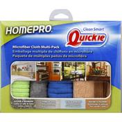 Quickie Microfiber Cloth, Multi-Pack