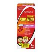 CareOne Children's Pain Relief Suspension Liquid, Cherry Flavor