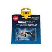 Life Brand Essentials Accuflex Motion Blade Cartridges