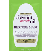 OGX Restore Mask, Damage Remedy + Coconut Miracle Oil, Extra Strength