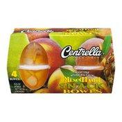 Centrella Snack Bowls Mixed Fruit - 4 CT