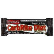 Doctors Nutritional Snack Bar, Sugar Free, Chocolate Brownie