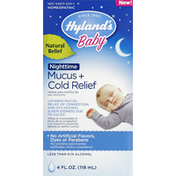 Hyland's Mucus + Cold Relief, Nighttime