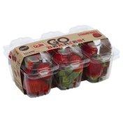 Dole Strawberries, Go Packs