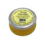 Seaweed-Based Caviar Imitation, Ginger
