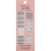 Dashing Diva Nail Strips, Desert Quartz, Gel, Gloss