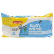 Valu Time Unscented Baby Wipes