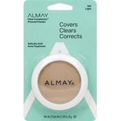 Almay Pressed Powder, Light 100