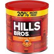 Hills Bros. Original Blend Medium Roast Premium Ground Coffee