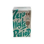 Oi Zero Waste Large Menstrual Cup