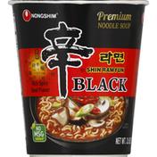 Nongshim Premium Noodle Soup Shin Black