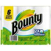 Bounty Paper Towels 6 Trial Rolls  Towels/Napkins