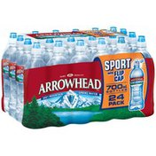 Arrowhead Sport Bottle with Flip Cap Mountain Spring Water