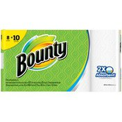Bounty White Large Rolls Paper Towels