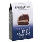 Foodstirs Cake Mix, Organic, Ultimate Chocolate