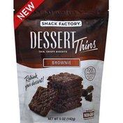 Snack Factory Dessert Thins, Brownie