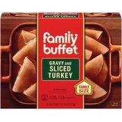 Family Buffet & Gravy Sliced Turkey