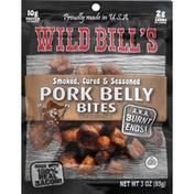 Wild Bill's Pork Belly, Smoked, Cured & Seasoned, Bites