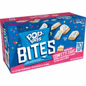 Kellogg's Pop-Tarts Baked Pastry Bites, Kids Snacks, School Lunch, Frosted Confetti Cake