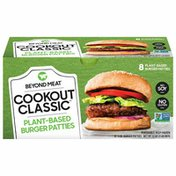 Beyond Meat Cookout Classic, Plant-Based Burger Patties