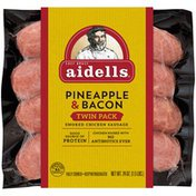 Aidells Smoked Chicken Sausage, Pineapple & Bacon, 1.5 lb. (8 Fully Cooked Link