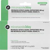 Publix Vaginal Antifungal, Miconazole 3 Day, Combination Pack