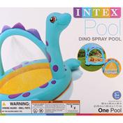 Intex Pool, Dino Spray