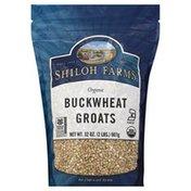 SHILOH FARMS Buckwheat Groats, Organic, Pouch