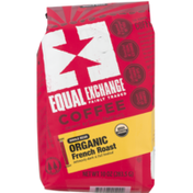 Equal Exchange Organic Whole Bean Coffee French Roast