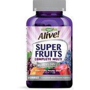 Nature's Way Alive Super Fruits Women's 50+ Multi Gummies