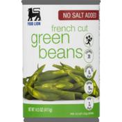 Food Lion No Salt Added Fresh Cut Green Beans