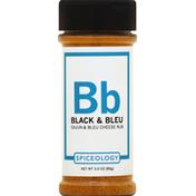 Spiceology Rub, Cajun & Bleu Cheese, Black & Bleu, Bb