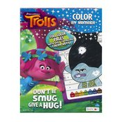 DreamWorks Trolls Color By Number Book