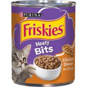 Purina Friskies Gravy Wet Cat Food, Meaty Bits Chicken Dinner