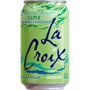 LaCroix Natural Lime Sparkling Water