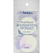 TopCare Foundation Sponges, Small Round