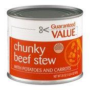 Guaranteed Value Chunky Beef Stew