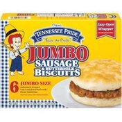 Tennessee Pride Sausage & Buttermilk Biscuits 21 Oz Sandwiches