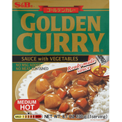 Golden Curry Sauce with Vegetables, Medium Hot