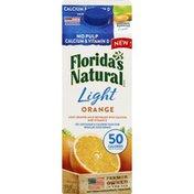 Florida's Natural Orange Juice Beverage, Light, with Calcium and Vitamin D, No Pulp