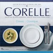 Corelle Dinnerware Set, Classic, Delano, 16 Piece
