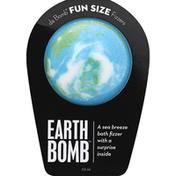 Da Bomb Bath Fizzer, Earth Bomb, Fun Size